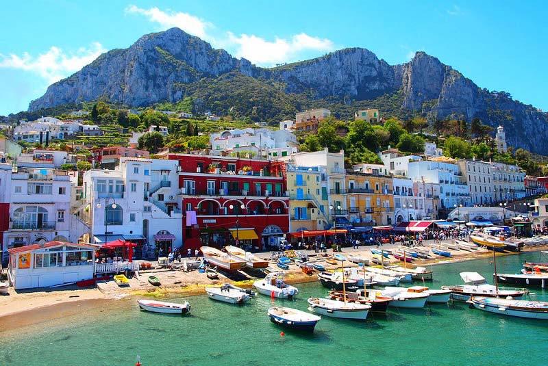 جاذبه های گردشگری جزیره کاپری ایتالیا