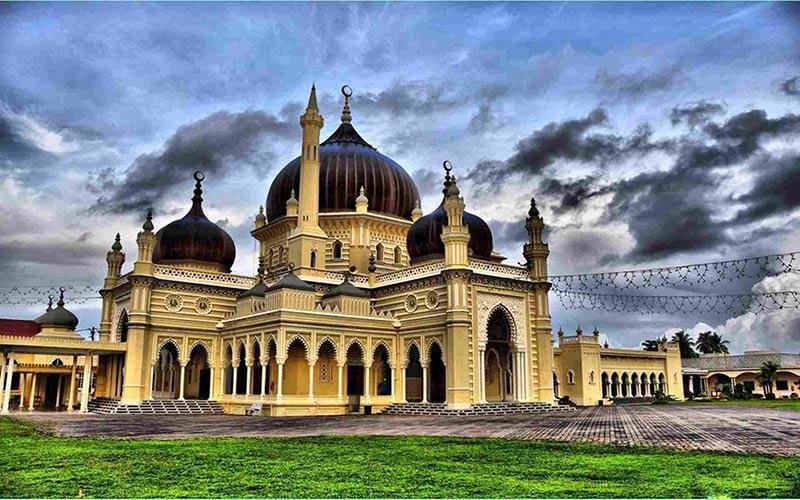 معرفی مساجد مشهور مالزی