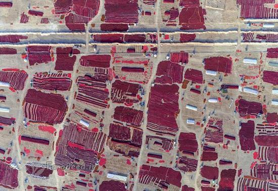 عکس های هوایی فوق العاده دیدنی از چین