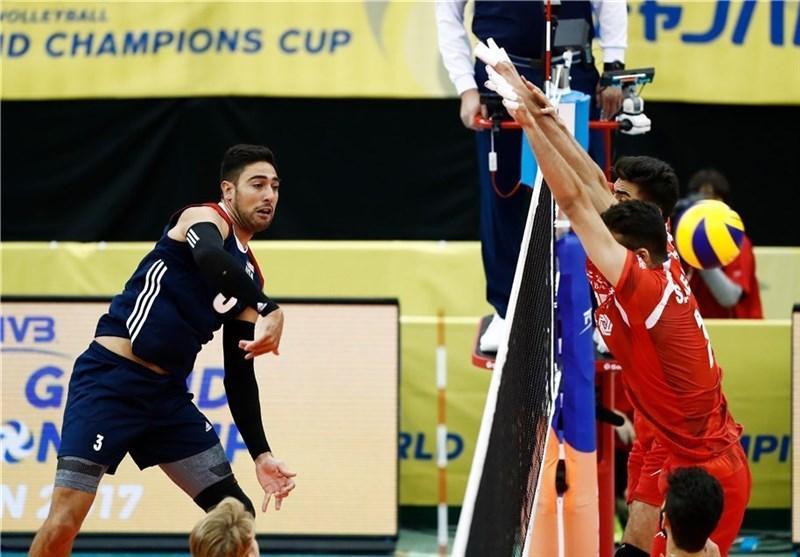 دیدار محبت آمیز والیبال، تیم ایران مغلوب آمریکا شد، شاگردان کواچ بر کانادا غلبه کردند