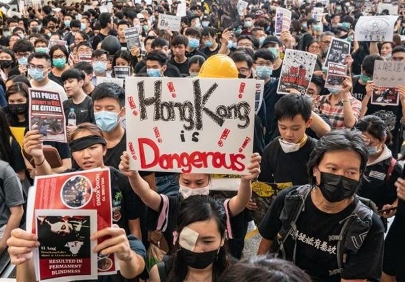 گزارش ، هنگ کنگ؛ مشت آهنین چین در مقابل دست سیاه آمریکا