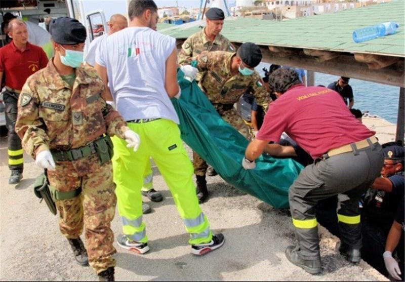 افزایش تلفات حادثه کشتی مهاجران در لامپدوسای ایتالیا به 359 کشته