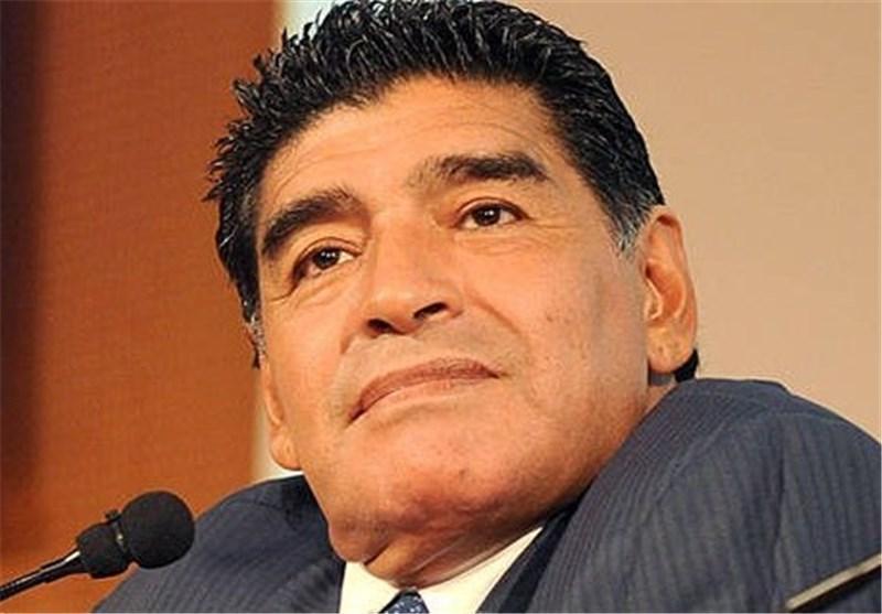 مارادونا از اداره مالیات ایتالیا شکایت می نماید