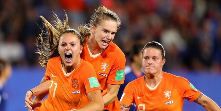 جام جهانی فوتبال زنان؛ هلند با رجحان مقابل ایتالیا به نیمه نهایی صعود کرد