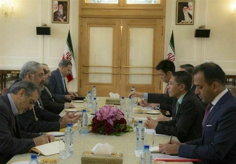 تاکید سرمدی بر اراده مقامات ایرانی بر گسترش روابط با سنگاپور