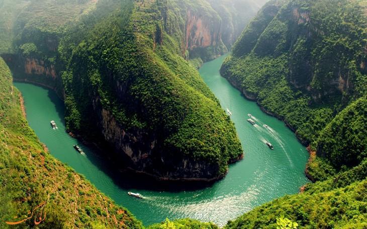 جاذبه های طبیعت چین