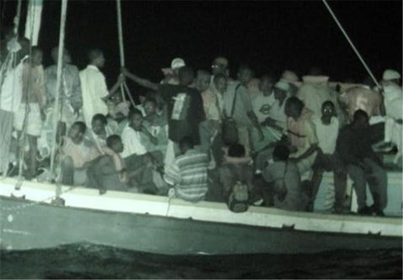 ایتالیا 1100 مهاجر را در جنوب سیسیل نجات داد