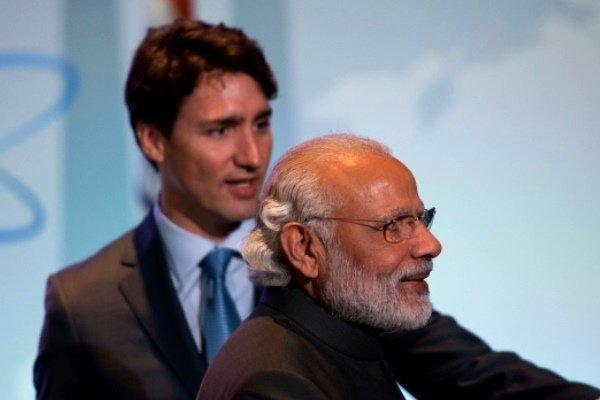 مذاکرات نخست وزیران هند و کانادا در خصوص توافقنامه اقلیمی پاریس
