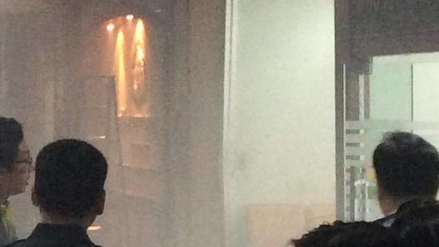انفجار بمب در یک بیمارستان بانکوک با 23 زخمی