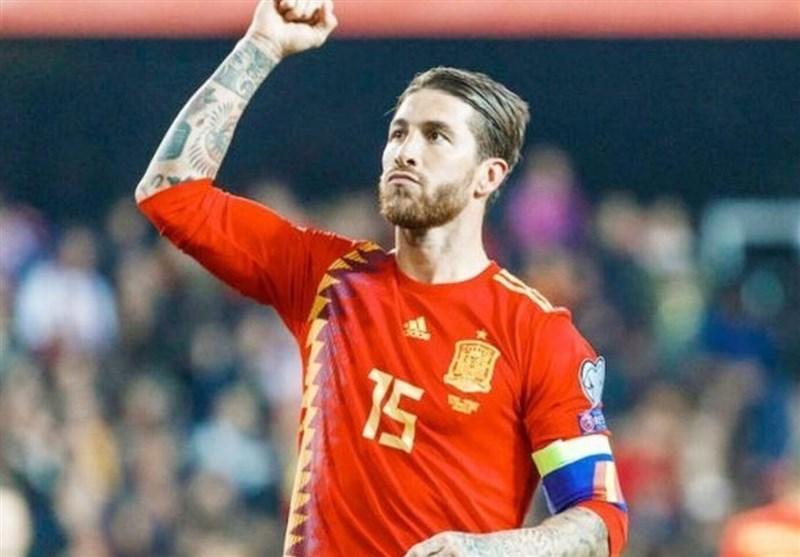 راموس پس از ثبت رکورد بازی در تیم ملی اسپانیا: می خواهم 200 تایی شوم!