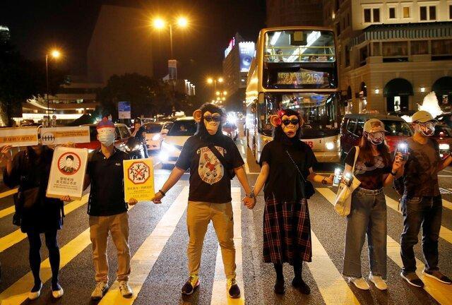حمایت رئیس اجرایی هنگ کنگ از استفاده از زور علیه معترضان