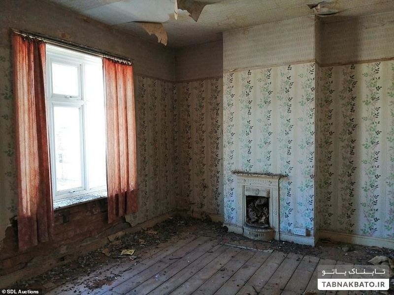 خانه ای ارزان برای فروش که پا گذاشتن در آن جرات می خواهد!