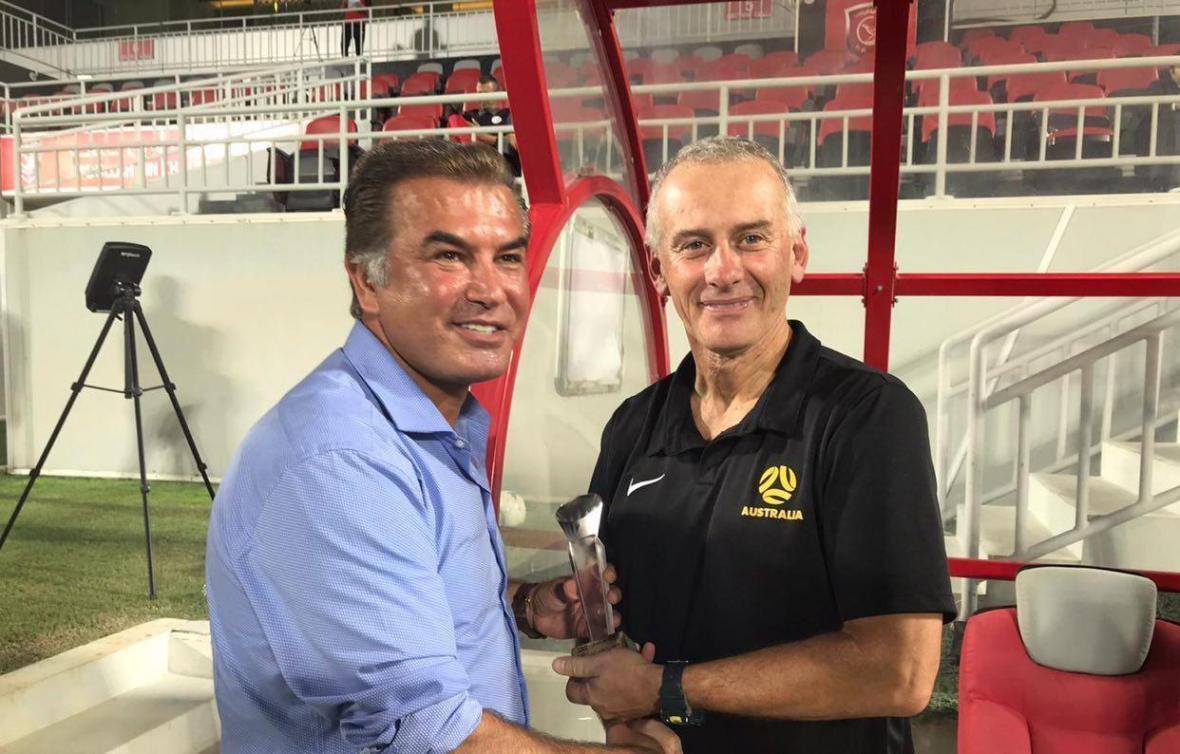 مربی تیم ملی فوتبال امید استرالیا: این بازی برای آمادگی بازیکنان ما بسیار عالی بود