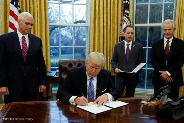 آمریکا از نفتا خارج نمی شود