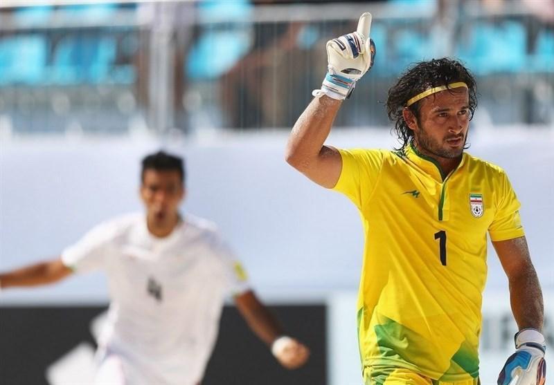 نام حسینی در کنار کانتونا در میان 10 اسطوره برتر فوتبال ساحلی