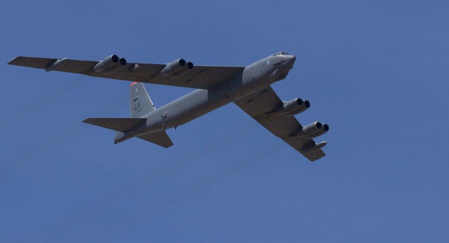 بمب افکن های آمریکایی В-52 خاک اروپا را ترک کرد