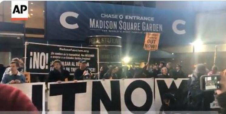 فیلم، تظاهرات علیه سیاست های ترامپ در نیویورک