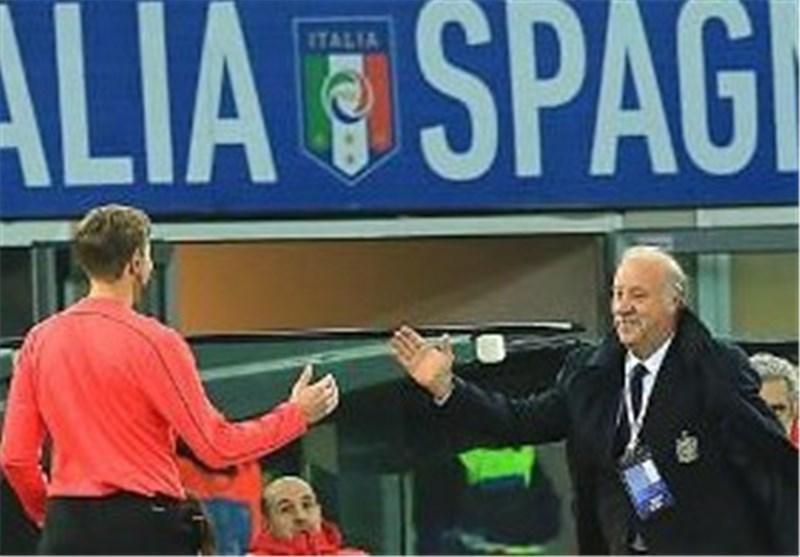 دل بوسکه: ایتالیا بیشتر از ما فرصت گلزنی داشت