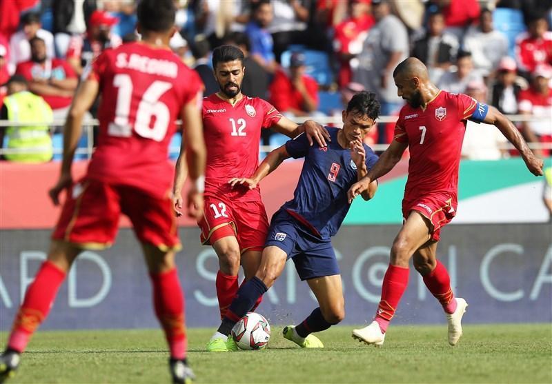 جام ملت های آسیا، جدال تیم های بحرین و تایلند از نگاه آمار