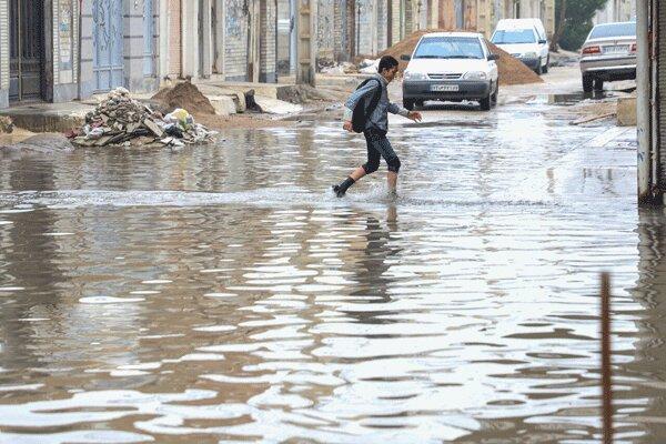 پیش بینی اقلیم آینده ایران ، میانگین بارش : کم، بارش های سیل آسا: زیاد ، هشدار درباره بارش های خسارت بار