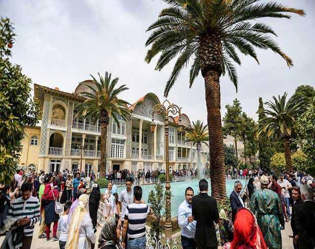 باغ ارم ، جلوه دلبرانه شیراز