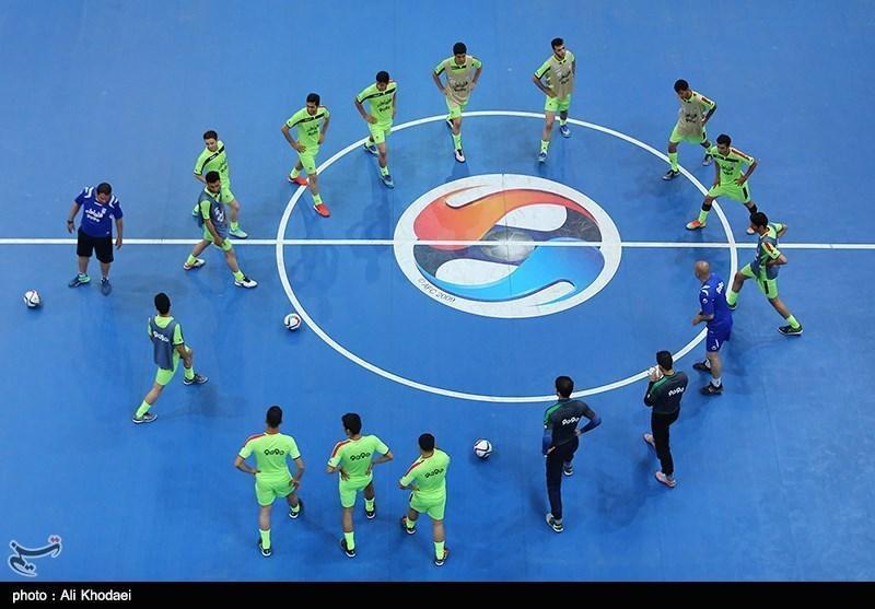 اعلام زمان قرعه کشی مسابقات مقدماتی قهرمانی فوتسال آسیا