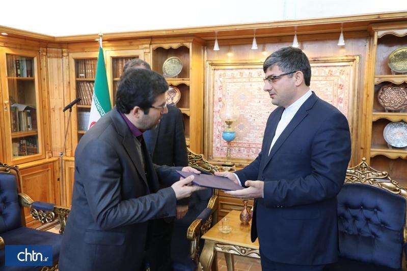 مدیر جدید پایگاه جهانی مجموعه شیخ صفی الدین اردبیلی معرفی گردید