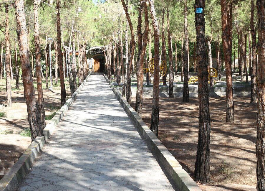 ممنوعیت ورود و توقف در بوستان ها