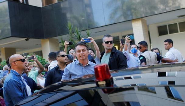 حضور دوباره بولسونارو در جمع هوادارانش بدون پوشش محافظتی