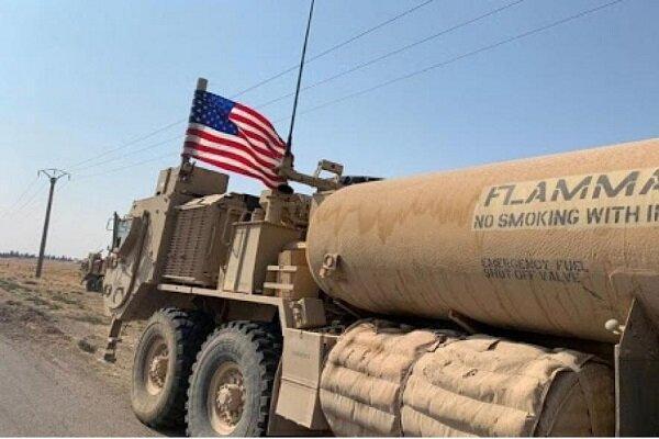 اشغالگران آمریکایی محموله نفتی سوریه را سرقت وبه عراق منتقل کردند
