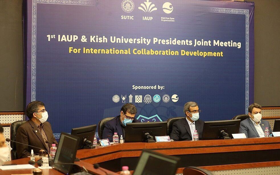 خبرنگاران تاکید بر استفاده از ظرفیت های کیش در گسترش ارتباطات دانشگاهی بین المللی
