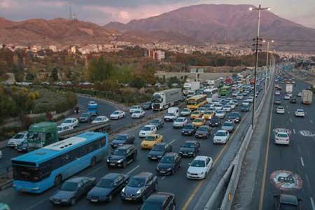 8 جاده به دلیل کاهش ایمنی مسدود است ، افزایش تردد خودرو در جاده ها