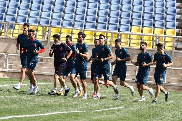 تمرین پرسپولیس با توپ&zwnjهای مخصوص فینال لیگ قهرمانان آسیا