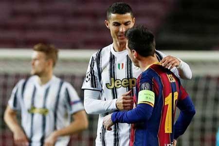 رونالدو به مسی رای داد اما لئو نه