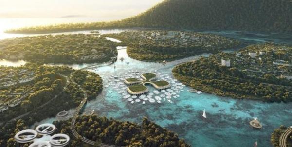 سه جزیره مصنوعی مالزی، عکس