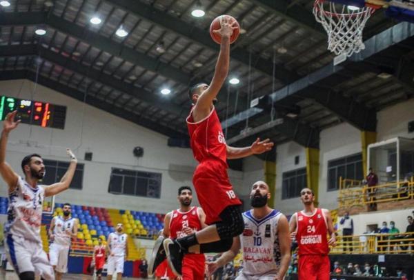 خبرنگاران نتایج لیگ یک بسکتبال منطقه شمال کشور در گرگان