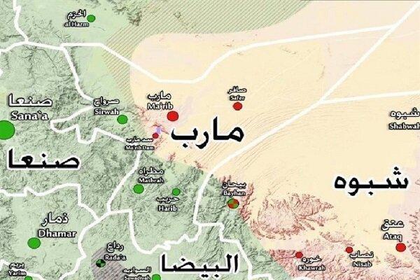 عملیات پیروز یمنی ها در قلب مارب