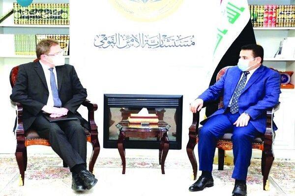 رایزنی مشاور امنیت ملی عراق با مقام آلمانی