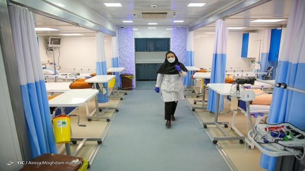 بیمارستان صحرایی مسیح دانشوری برای بیماران کرونایی راه اندازی شد