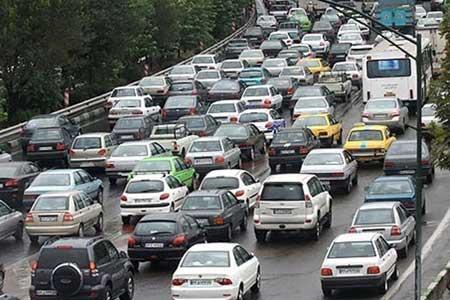انسداد 7 جاده به دلیل کاهش ایمنی در جهت ، بارش باران در جاده های 13 استان