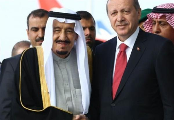 تماس تلفنی اردوغان با پادشاه عربستان
