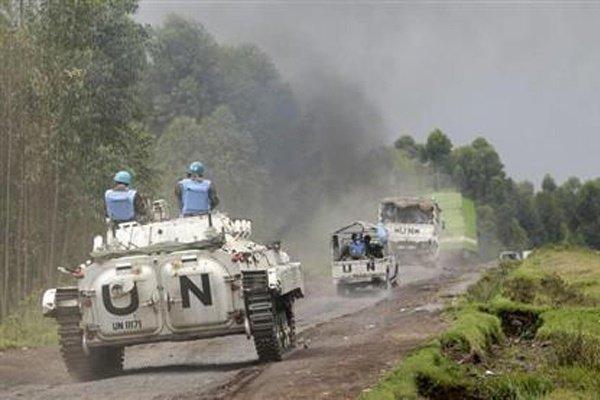 حمله به نیروهای حافظ صلح سازمان ملل در اقتصادی 15 زخمی برجای گذاشت
