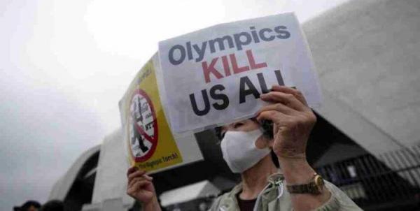 عصبانیت شدید مخالفان المپیک ، درخواست برای توقف رویداد