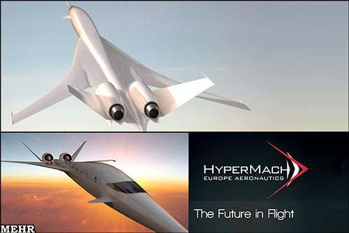تصاویر طرح هواپیمای مافوق صوت