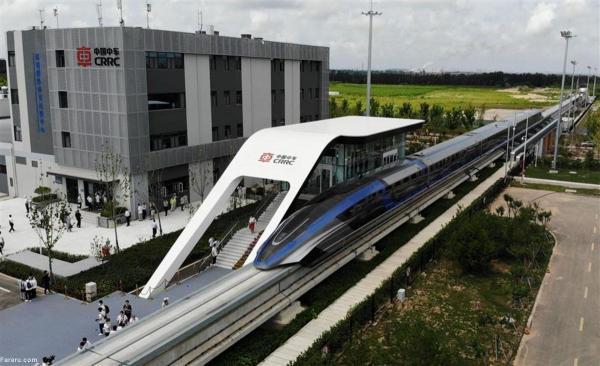 رونمایی از سریع ترین قطار دنیا