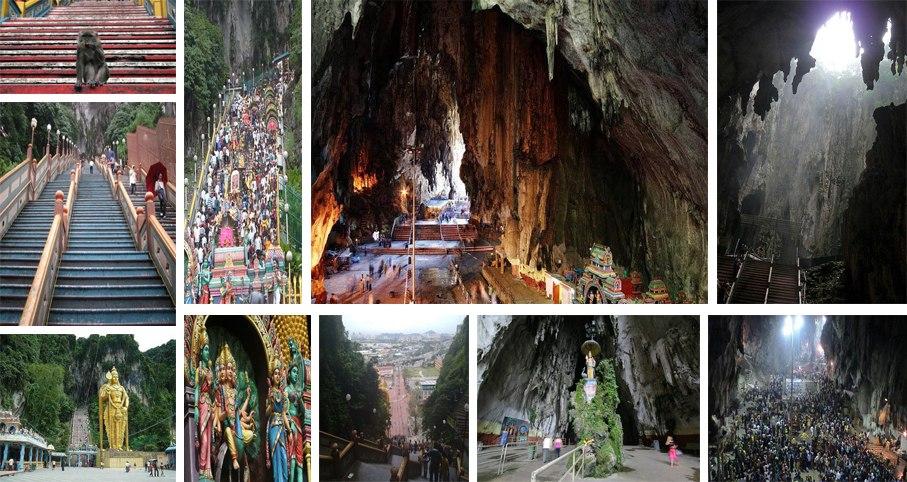 بازدید از غار میمونها در تور مالزی