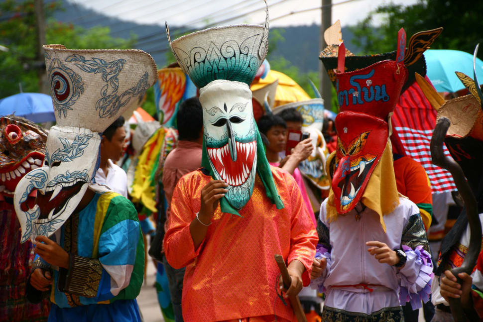 جشنواره فیتاخون یا ارواح تایلند